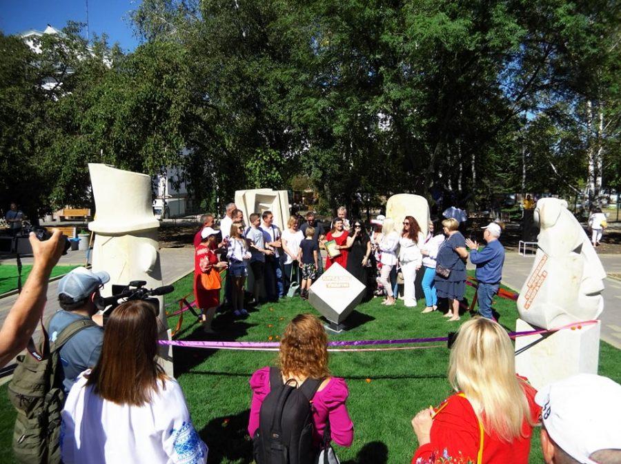 У Краматорську відбулось відкриття скульптурної композиції «Народжені в Україні», фото-3