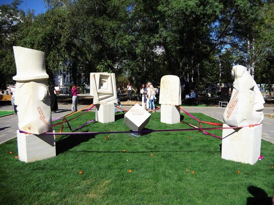 У Краматорську відбулось відкриття скульптурної композиції «Народжені в Україні», фото-1