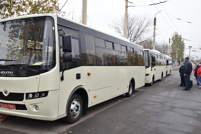 У Краматорьск прибули 3 нових автобуса, фото-2
