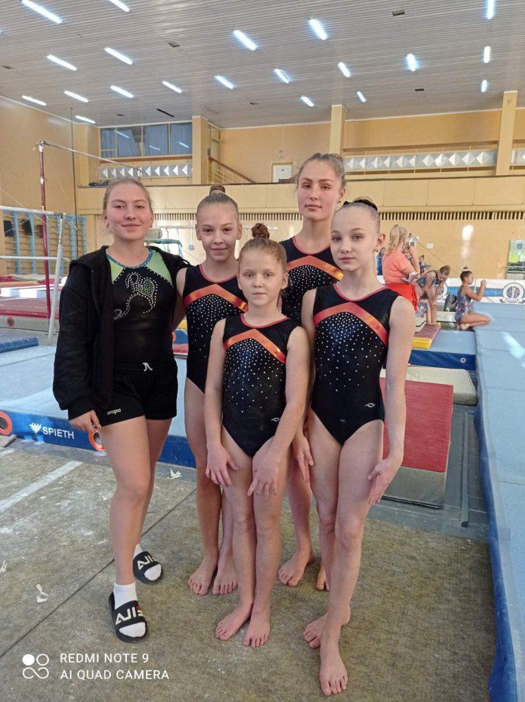 Краматорські гімнастки стали призерками у чемпіонаті України, фото-3