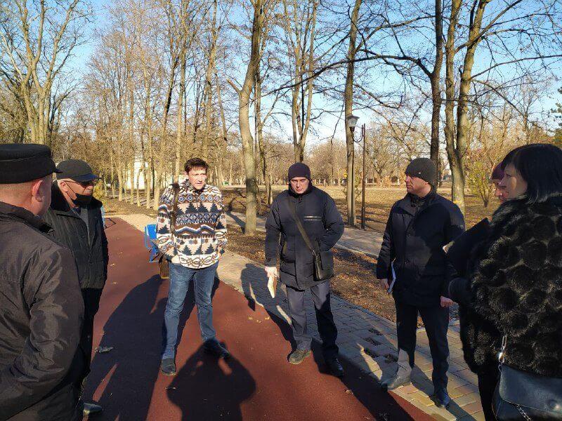 У Краматорську готуються до реалізації президентської програми «активні парки», фото-3