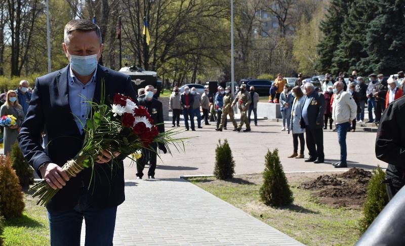 У Краматорську вшанували 35 роковини з дня Чорнобильської трагедії, фото-5