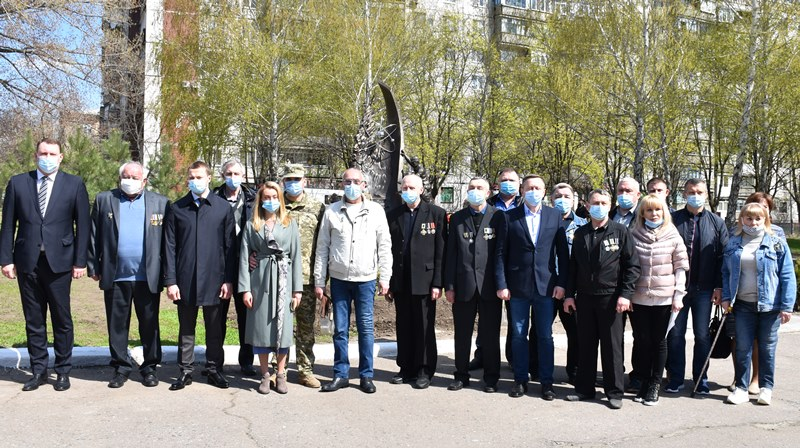 У Краматорську вшанували 35 роковини з дня Чорнобильської трагедії, фото-9