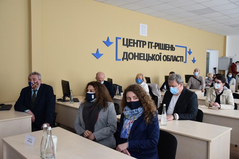 У Краматорську відкрився Центр ІТ-рішень Донецької області, фото-1