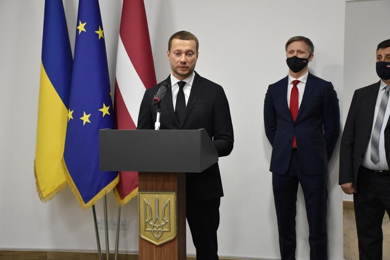 У Донецькій області відкрилося Почесне консульство Латвійської Республіки, фото-2