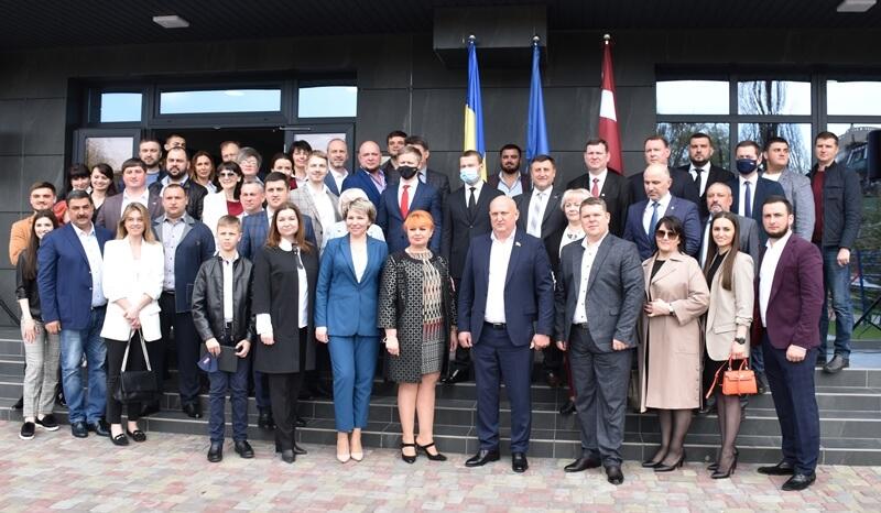 У Донецькій області відкрилося Почесне консульство Латвійської Республіки, фото-1